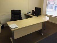 Office Desk - Corner Set & Draws