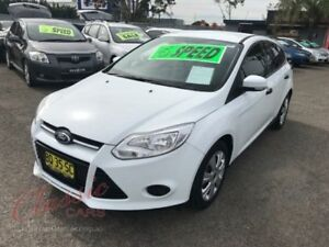 2012 Ford Focus LW Ambiente White 5 Speed Manual Hatchback Lansvale Liverpool Area Preview