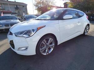 2013 HYUNDAI VELOSTER W / TECH PACK (AUTOMATIQUE, FULL, WOW!!!)