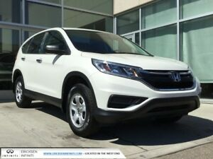 2015 Honda CR-V LX/ACCIDENT FREE/AWD/HEATED SEATS/BACK UP MON