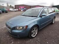 VOLVO V50 2.4 D5 SE GEARTRONIC~56/2006~ESTATE~AUTO~SOLID TURBO DIESEL