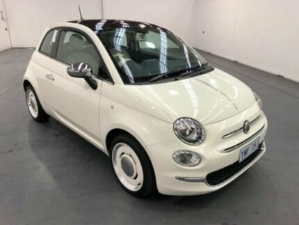 2017 Fiat 500 SERIES 4 ANNIVERSARIO White Manual Hatchback Fyshwick South Canberra Preview