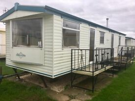 Cheap static caravan on Coastfields Ingoldmells/Chapel/LOW SITE FEES