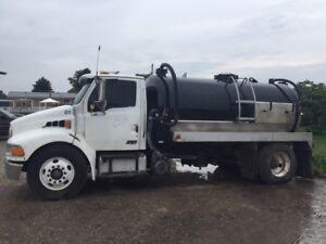 2000 Gallon Vacuum Truck