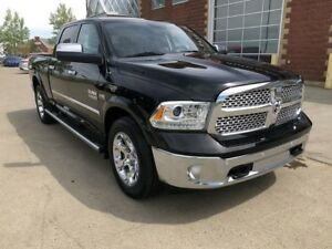 2014 Ram 1500 Laramie 4x4 Crew - Leather - NAV - Backup Camera -