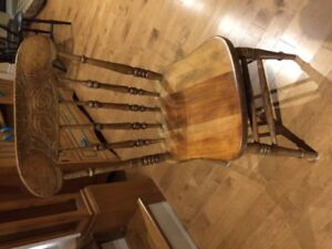 WANTED:   antique wooden chairs