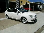 2008 Ford Focus LT TDCi White 6 Speed Manual Hatchback Moorooka Brisbane South West Preview