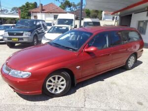 2000 Holden Berlina VX Red 4 Speed Automatic Wagon Sylvania Sutherland Area Preview