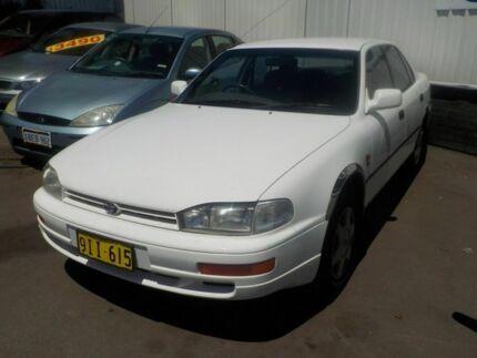 1995 Toyota Camry VDV10 CSi White 4 Speed Automatic Sedan