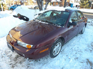 2002 Saturn S-Series SL Sedan
