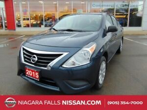 2015 Nissan Versa S AUTO | ICE COLD A/C | GREAT FOR STUDENTS & C