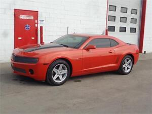 2010 Chevrolet Camaro ~ Hugger Orange 6-spd w/ Sunroof & LOW KM!
