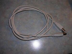 Printer cable - USB, 1.3 meter.