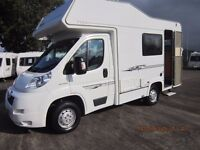 2008 ELDDIS SUNSTYLE GT 4 BERTH MOTORHOME WITH 40K MILES ANDERSON CARAVAN AND MOTORHOME SALES