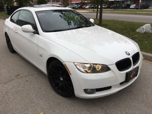 2010 BMW 328i XDRIVE COUPE RED LEATHER SPORT PKG*PADDLE LIKE NEW