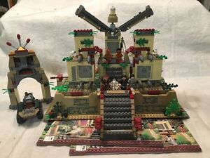 Lego Indiana Jones sets 7627, 7626 and 7197