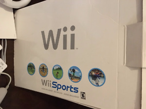 Wii console+accessories+games