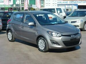 2015 Hyundai i20 PB MY14 Active Grey 4 Speed Automatic Hatchback Strathpine Pine Rivers Area Preview