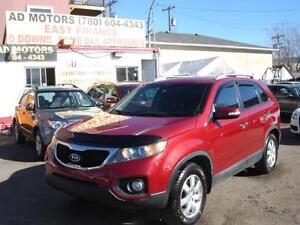 2013 KIA SORENTO AUTO LOADED 92K-100% APPROVED FINANCING!