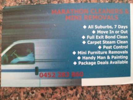MARATHON CARPET CLEANER & PEST CONTROL SERVICE.