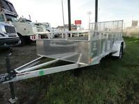 Snake River 6 x 12 single axle utility trailer