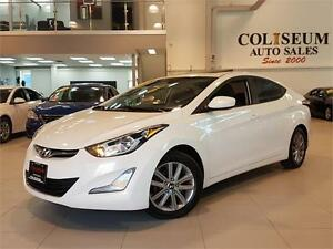 2014 Hyundai Elantra GLS-AUTO-REAR CAM-SUNROOF-ONLY 67KM