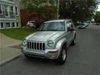 2004 JEEP LIBERTY LIMITED/ FINANCEMENT MAISON $40 SEMAINE CARSRT