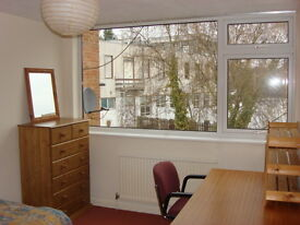 Headington double room with single bed suit female professional or student