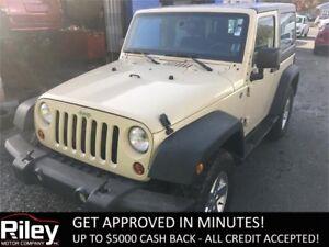 2012 Jeep Wrangler Sport STARTING AT $184.58 BI-WEEKLY