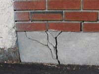 FOUNDATION CRACK  / CEMENT REPAIRS