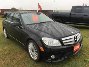 2010 MERCEDES BENZ C250 4MATIC,AWD,LEATHER,CALL 204-509-0008