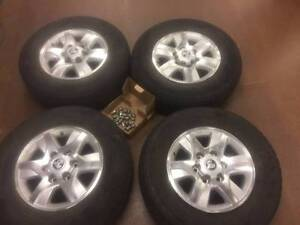 Holden Colorado Rims with tyres Bungalow Cairns City Preview
