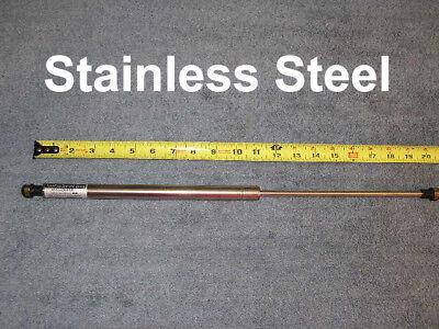 "RV Stainless Steel Heavy Duty 20"" 135# Gas Strut Spring Marine Hatch Lift Arm"
