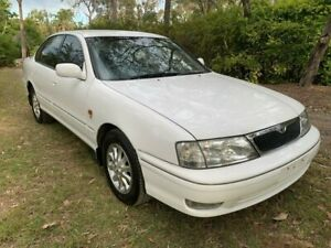 2001 Toyota Avalon MCX10R Grande Sedan 4dr Auto 4sp 3.0i White Automatic Sedan Sheldon Brisbane South East Preview