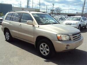 2007 Toyota Highlander V6 AWD LEATHER HEATED SEATS TOW PKG