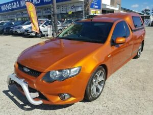 2010 Ford Falcon FG Upgrade XR6 50th Anniversary Orange 6 Speed Auto Seq Sportshift Utility Wangara Wanneroo Area Preview