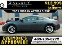 2009 Nissan Altima 3.5 COUPE $139 BI-WEEKLY APPLY NOW DRIVE NOW