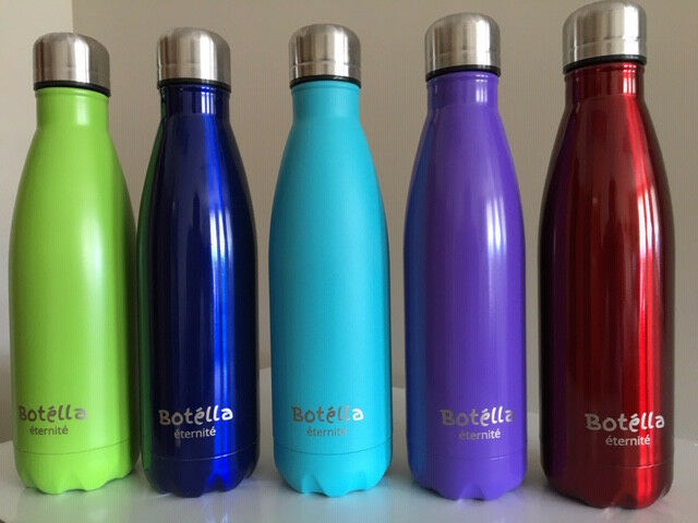 17 oz Vacuum Insulated  Stainless Steel Botella Double Wall