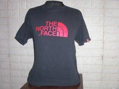 THE NORTH FACE black short sleeve shirt t-shirt men's Small