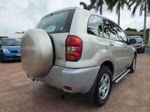 2004 Toyota RAV4 ACA23R CV Gold 5 Speed Manual Wagon Rosslea Townsville City Preview