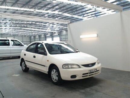 1998 Ford Laser KJIIL GLXi White 5 Speed Manual Hatchback