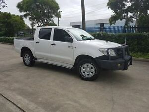 2010 Toyota Hilux KUN26R MY11 Upgrade SR (4x4) 5 Speed Manual Dual Cab Pick-up Moorebank Liverpool Area Preview