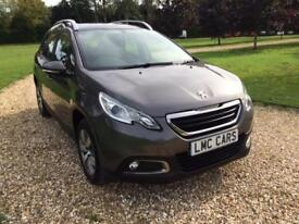 2014 (14) Peugeot 2008 Crossover 1.4HDi Active ONLY 18,000 MILES