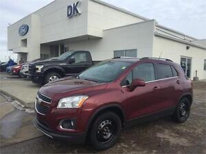 2013 Chevrolet Trax LTZ AWD w/Leather, Moonroof