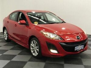 2011 Mazda 3 BL10L1 MY10 SP25 Red 6 Speed Manual Hatchback Edgewater Joondalup Area Preview