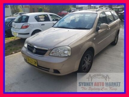 2006 Holden Viva JF Gold 4 Speed Automatic Wagon