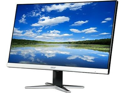 "شاشة ليد جديد Acer G257HU smidpx 25"" 4ms HDMI Widescreen LED Backlight LCD Monitor IPS"