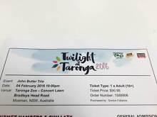 John Butler Trio Ticket - Twilight at Taronga Epping Ryde Area Preview