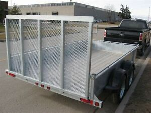 "2017 EXCALIBUR GALVANIZED 3.5 TON 80""X12' LANDSCAPER TRAILER Kingston Kingston Area image 3"