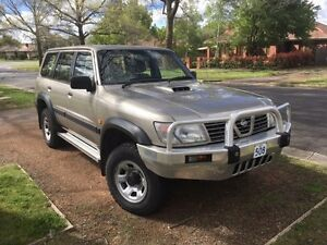 2001 Nissan Patrol Wagon ST 3.0 Turbo Deisel Griffith South Canberra Preview